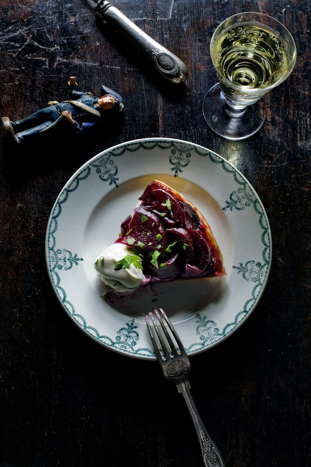 Beetroot tarte tatin | Mimi Thorisson for Camille Styles