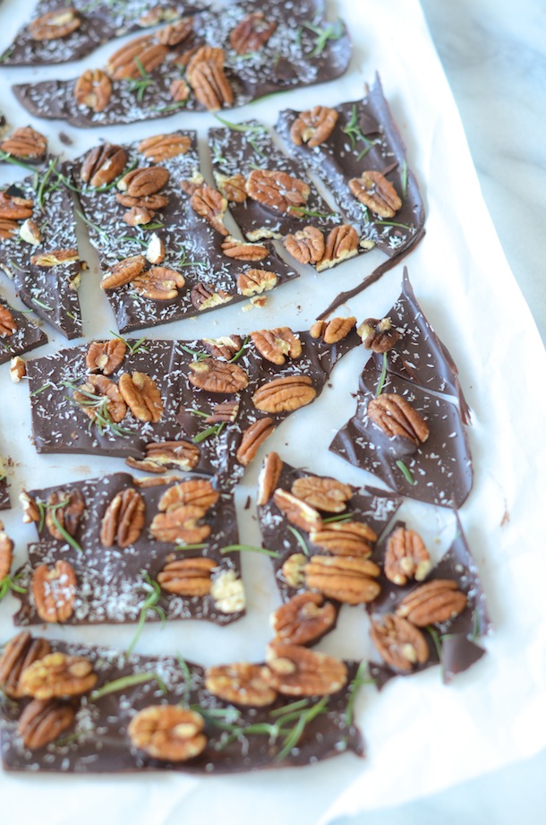 Rosemary Pecan Bark | Forgiving Martha for Camille Styles
