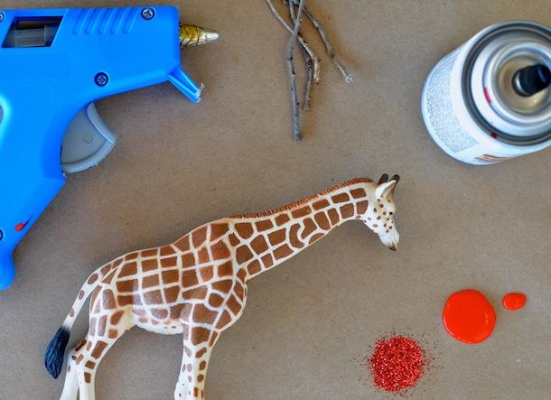 DIY Reindeer Animals   Camille Styles