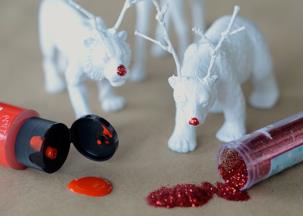 DIY Reindeer Animals | Camille Styles