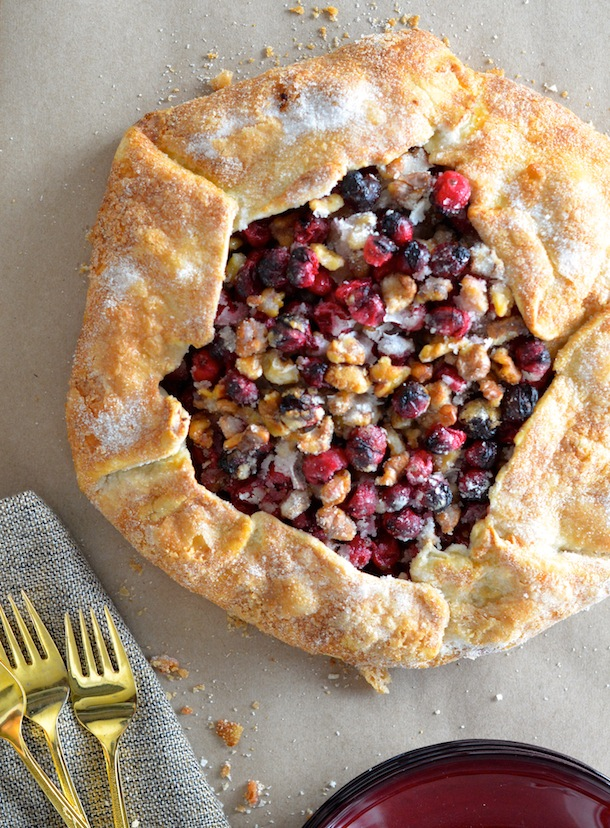 Cranberry Walnut Galette | Forgiving Martha for Camille Styles