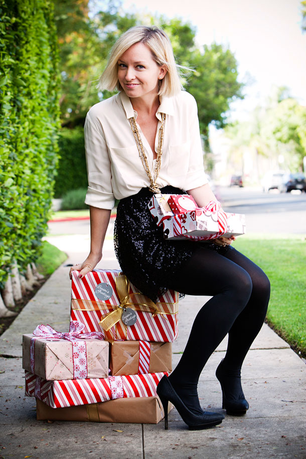 Christmas Outfit Styled by Jen Pinkston | photos by Denise Crew for Camille Styles
