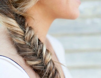 How to Fishtail Braid | Camille Styles