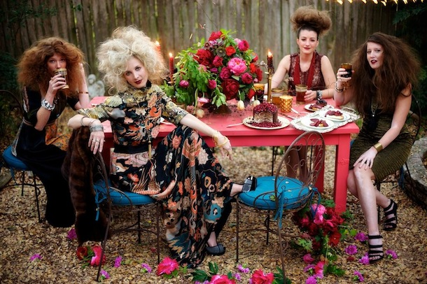 Bohemian Luxe Styled Shoot | The Byrd Collective for Camille Styles
