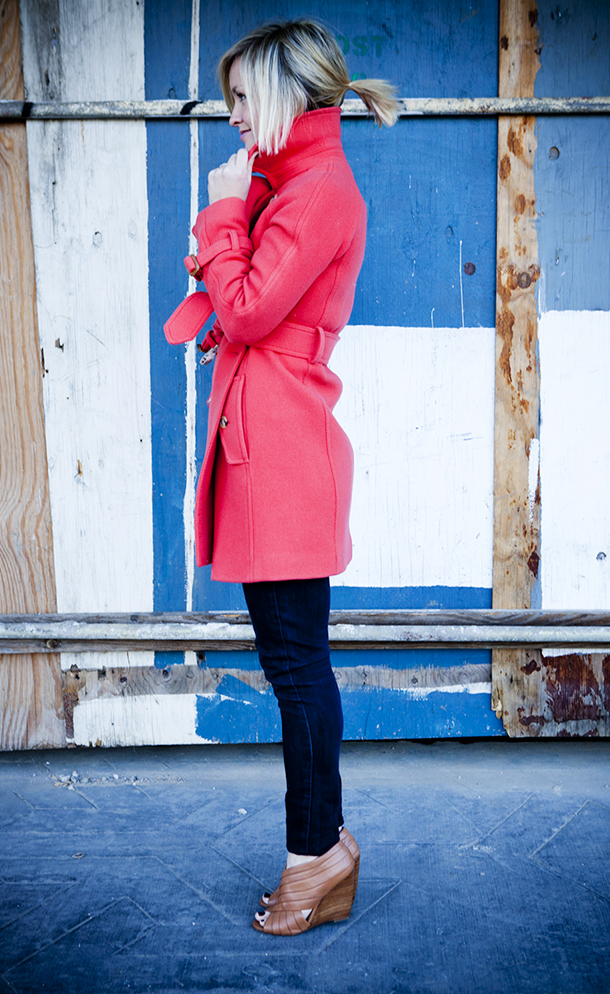 Crazy for Coats | Jen Pinkston for Camille Styles with photos by Denise Crew