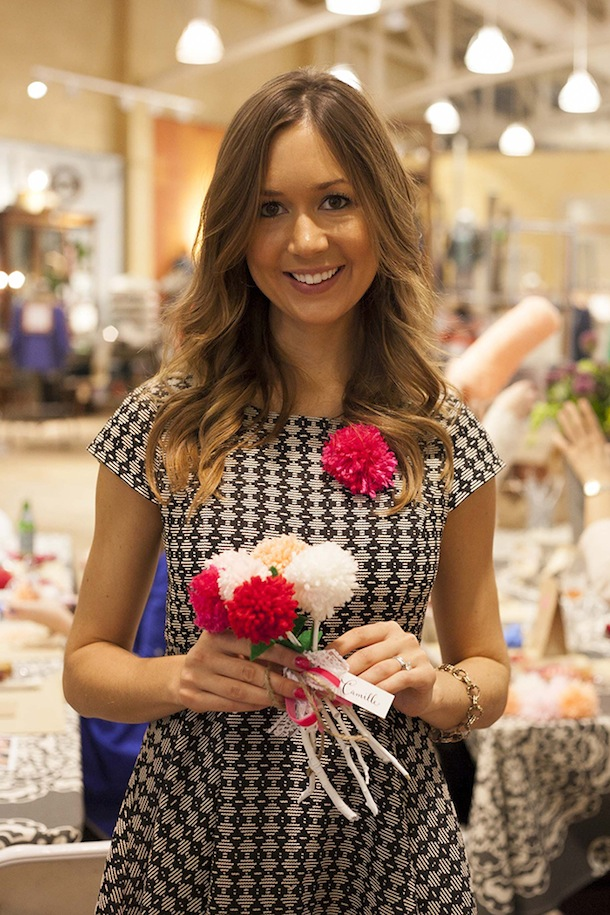 Anthropologie Valentine's Day Crafting Event with Camille Styles