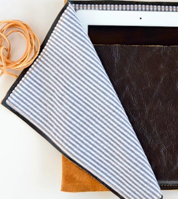 DIY iPad Case | Claire Zinnecker for Camille Styles