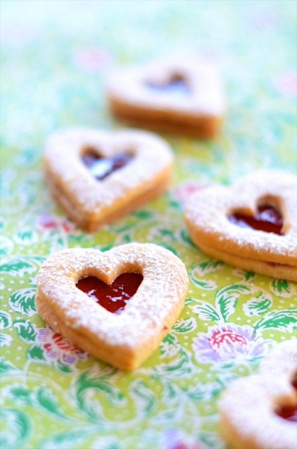 Linzer Cookies Recipe | Forgiving Martha for Camille Styles