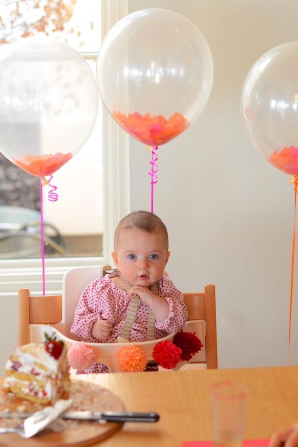 Happy half birthday to phoebe camille styles for 6 month birthday decorations