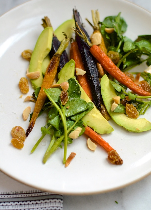 ... Tastings :: Cumin-Roasted Carrot & Avocado Salad - Camille Styles
