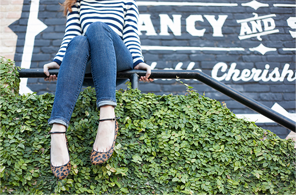 Stripes + Leopard | Grown-up Shoes for Camille Styles