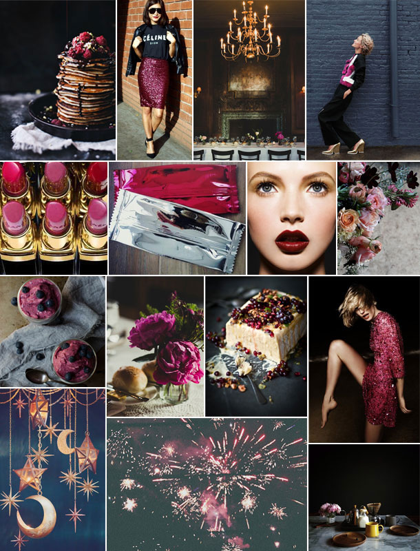 Black and Berry Valentine's Inspiration | Camille Styles