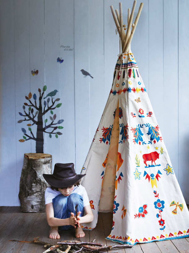 Indian Teepee, Cox & Cox | Camille Styles