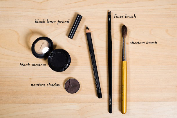 eyeliner tutorial by martha lynn kale | photos by cory ryan for camille styles