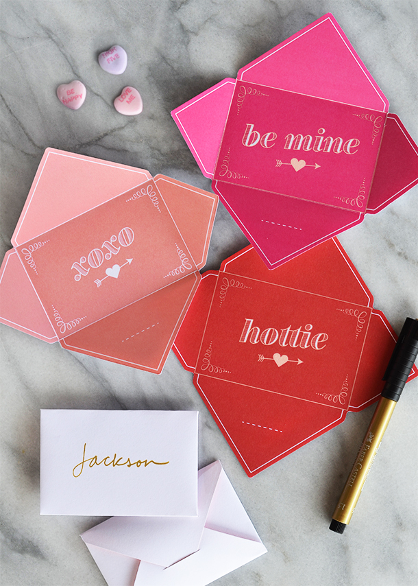 Printable Valentines | Camille Styles