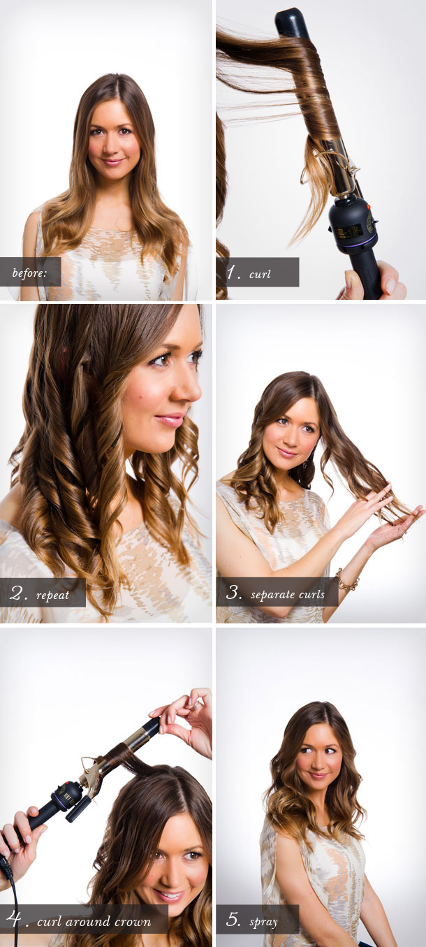 Beachy Waves Tutorial by Martha Lynn Kale | photos by Cory Ryan for Camille Styles