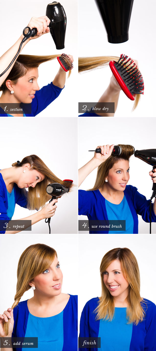 Blow Dry 101 by Martha Lynn Kale | Photos by Cory Ryan for Camille Styles
