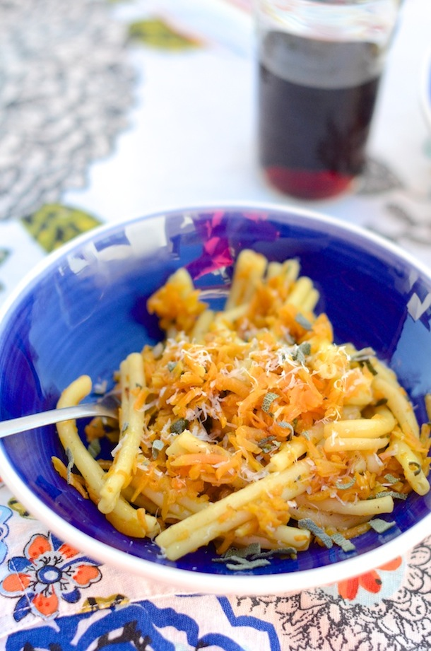 Butternut Squash Pasta | Camille Styles