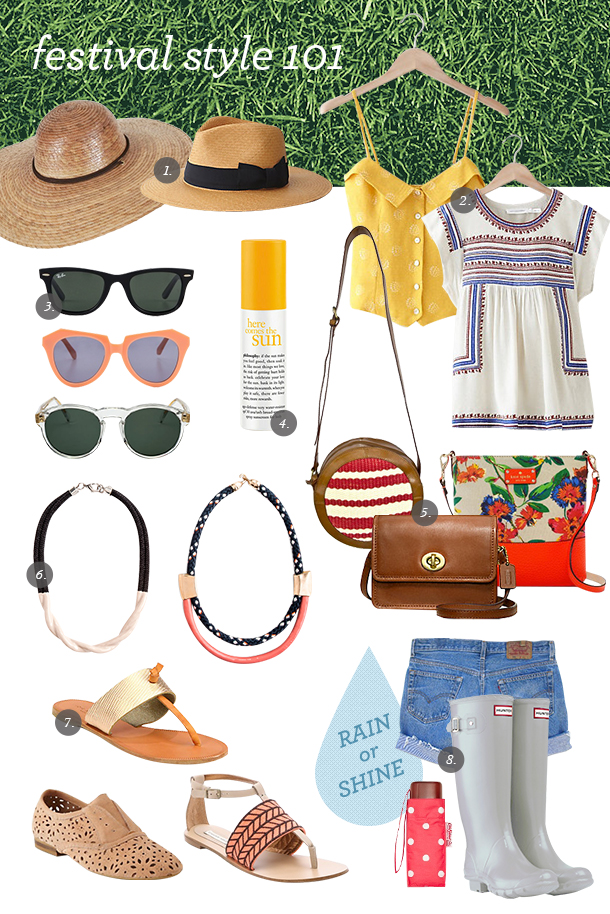 Music Festival Style Guide | Camille Styles