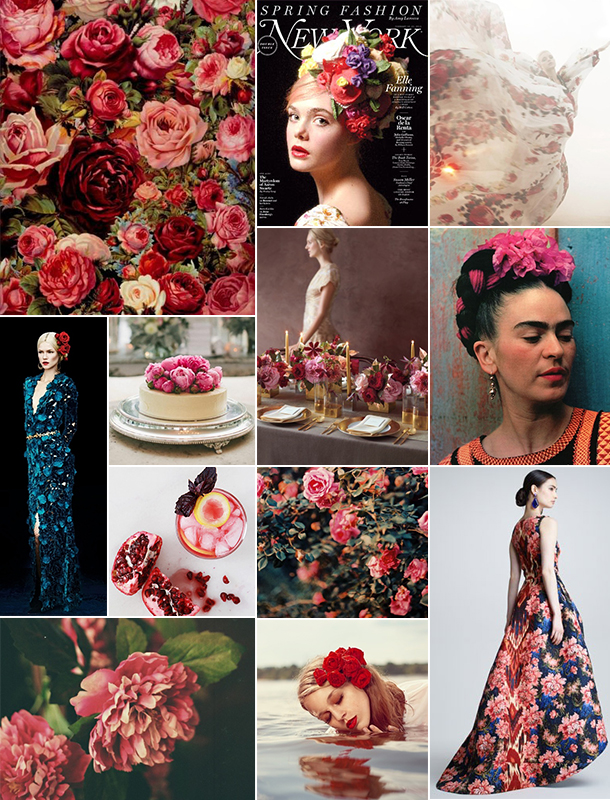 Floral Inspiration Board | Camille Styles