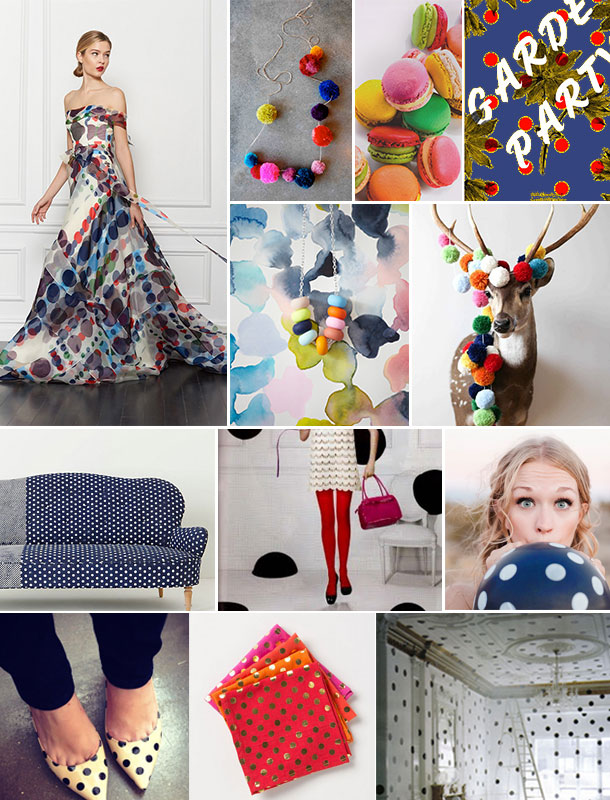 Polka Dots Inspiration Board | Camille Styles