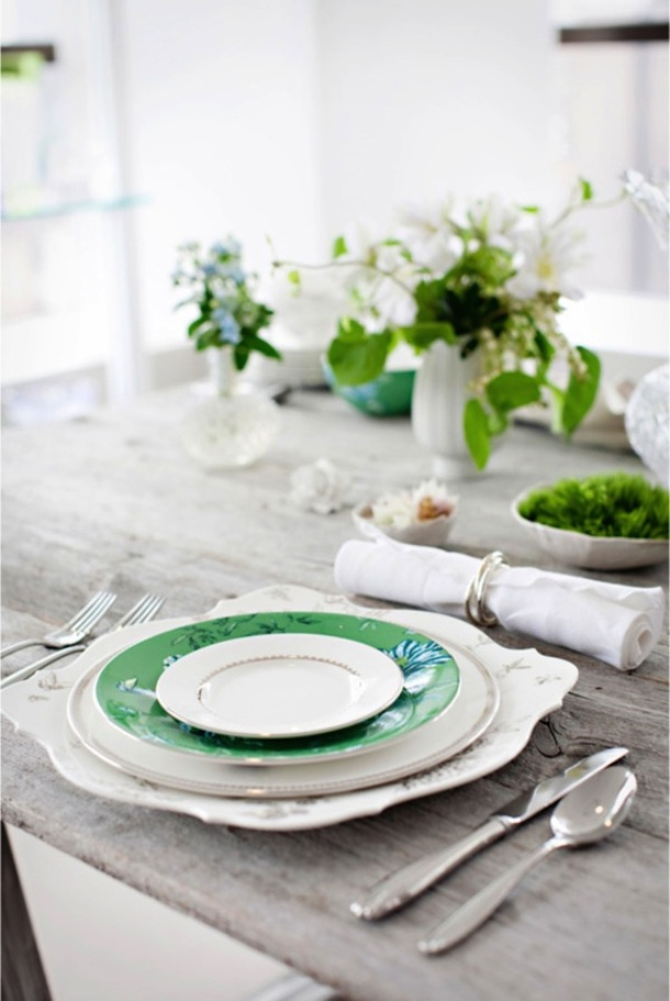 St. Patrick's Day Table | Camille Styles