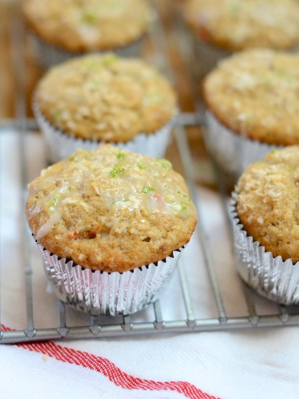Healthy Coconut Banana Muffins | Camille Styles