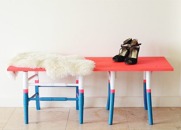 DIY Bench | Claire Zinnecker for Camille Styles