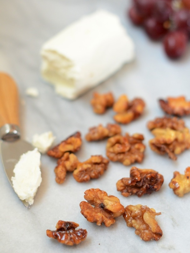 How to Caramelize Nuts | Camille Styles