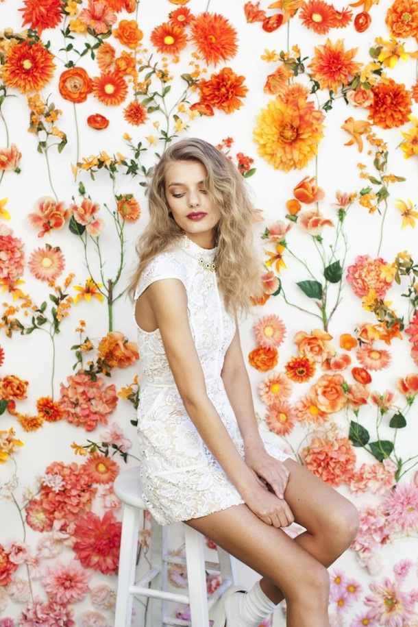 flower background | camille styles
