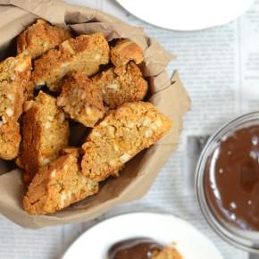 Gluten-free Almond Orange Chocolate Biscotti | Forgiving Martha for Camille Styles