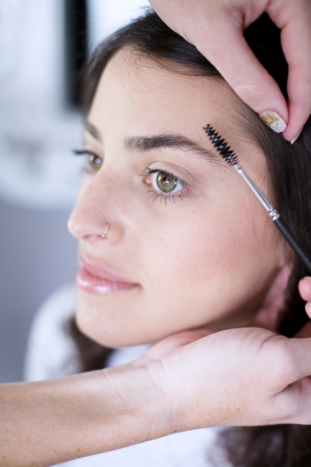 Easy Eyebrow Tutorial by Martha Lynn Kale | Photos by Kate Lesueur for Camille Styles