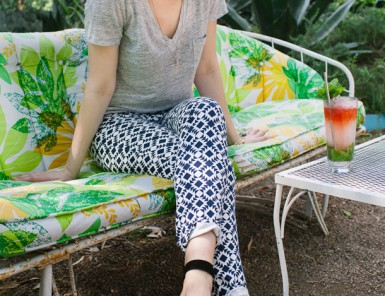 Printed Pants | Grown-up Shoes for Camille Styles