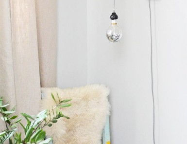 DIY Copper Pipe Wall Sconce | Claire Zinnecker for Camille Styles