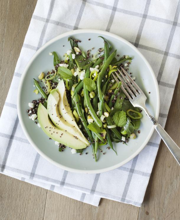 <em>In Season :: </em>Green Bean & Avocado Quinoa Salad