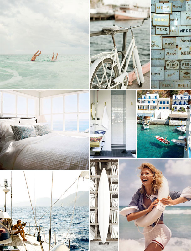 summer inspiration board | camille styles
