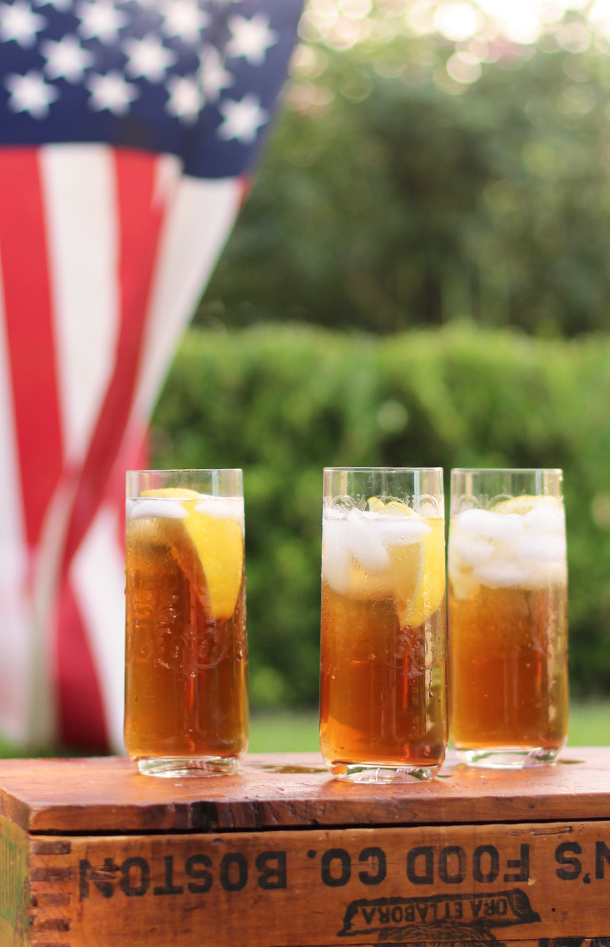 Fourth of July Cocktail Recipe | Camille Styles