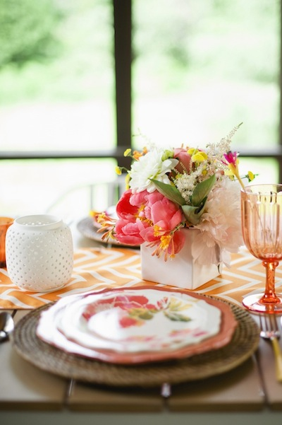 Entertaining with Confetti Pop | photos by Melissa Oholendt for Camille Styles