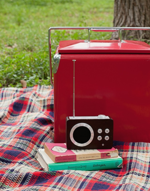 Retro Picnic in the Park for Two | Camille Styles for Cooking Channel | photo by Melanie Grizell