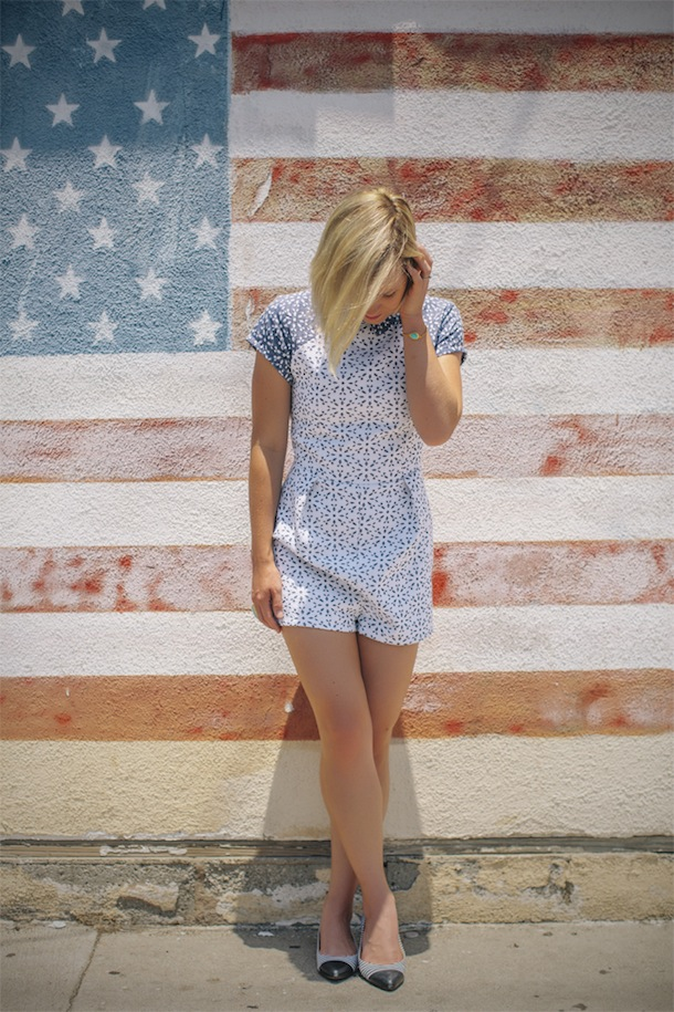 Fourth of July Fashion styled by Jen Pinkston | photos by Mary Costa for Camille Styles