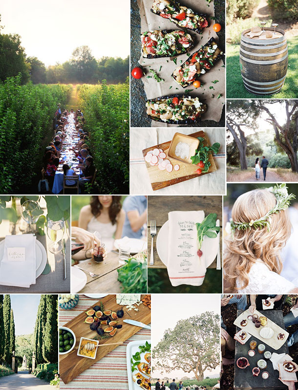 Vineyard Dinner Inspiration | Camille Styles