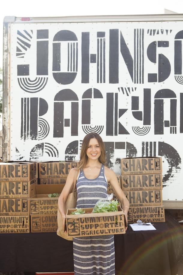 CSA Box & Farmer's Market | Camille Styles