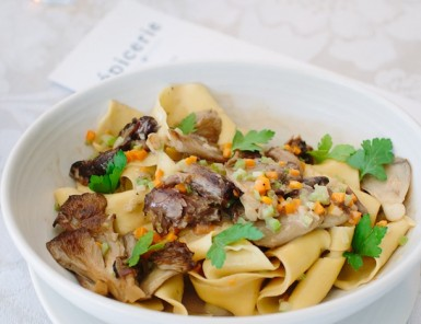 Fall Oxtail Papperdelle recipe | photos by Wynn Myers for Camille Styles