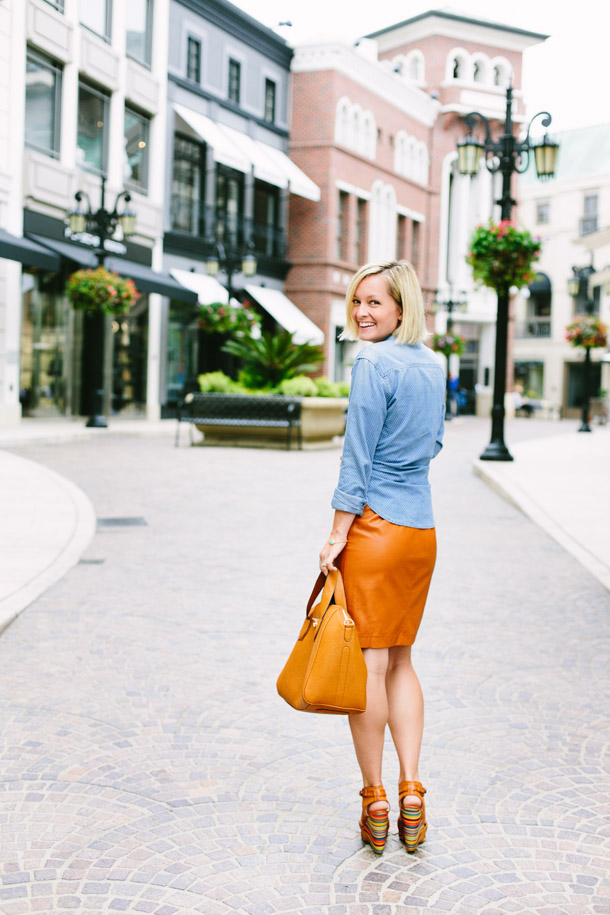 A day of styling on Rodeo Drive, by Jen Pinkston | photos by Mary Costa for Camille Styles