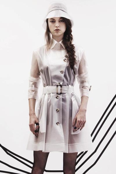 Tribeca Clear Rain Coat | 10 Best Raincoats | Camille Styles