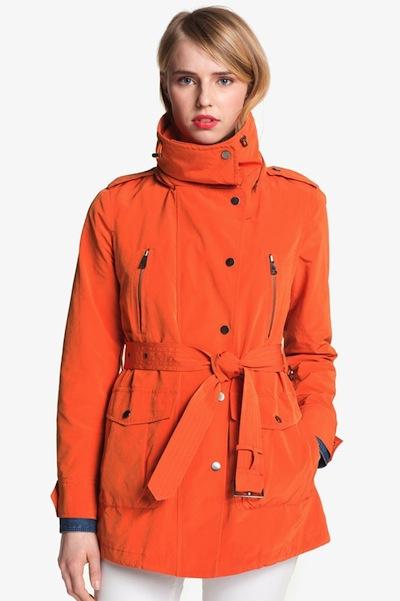 London Fog Belted Jacket | 10 Best Raincoats | Camille Styles