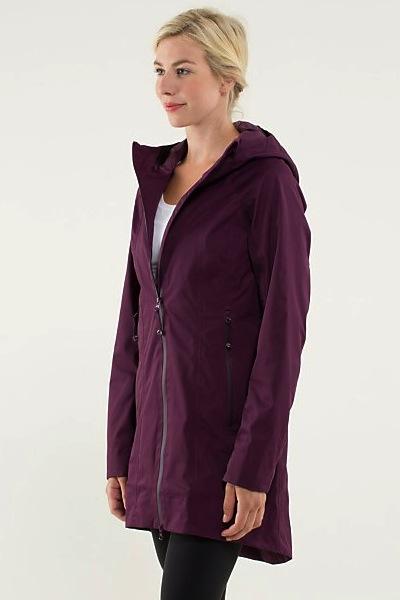 Lululemon Right As Rain Jacket | 10 Best Raincoats | Camille Styles
