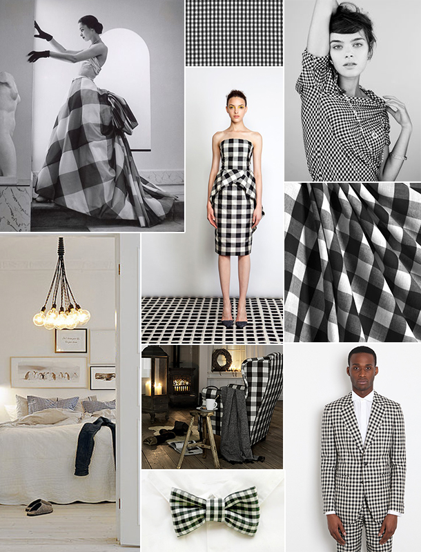 Gingham Inspiration Board | Camille Styles