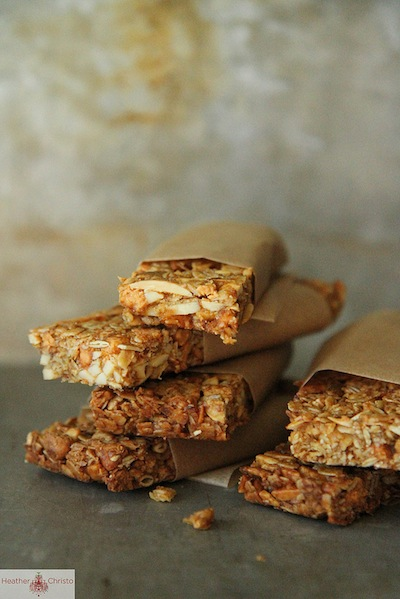 Pumpkin Butterscotch Granola Bars | 10 Best Pumpkin Recipes | Camille Styles