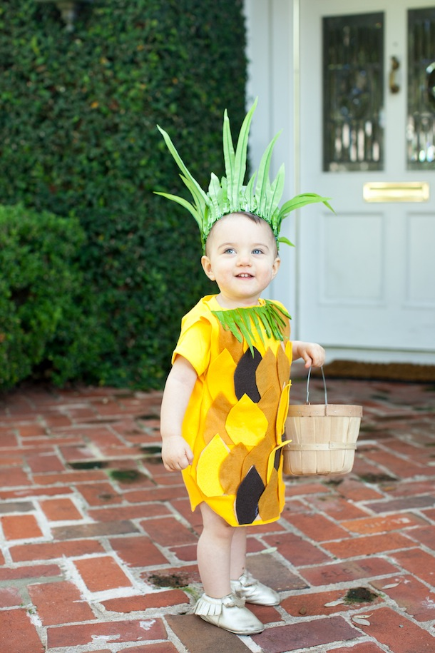 DIY :: No-Sew Pineapple Costume - Camille Styles